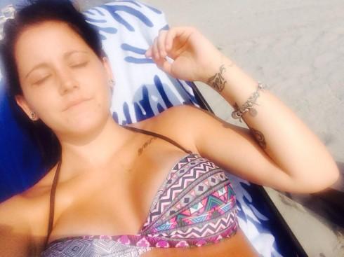 Jenelle Evans Post-Baby Bikini Body