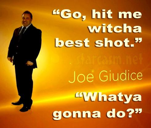 Joe Giudice's Real Housewives of New Jersey tagline