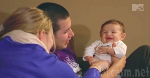 Kailyn Lowry New Baby Lincoln and Husband Javi Marroquin