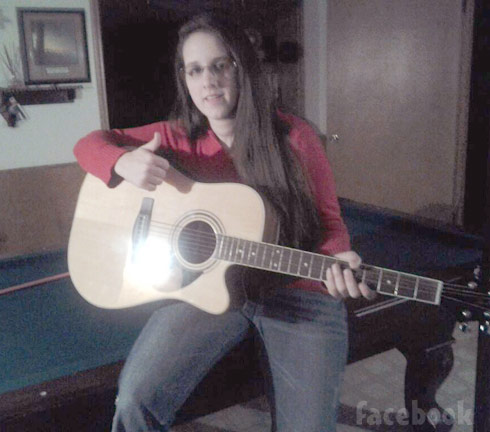 Breaking Amish Return to Amish Katie Ann Schmucker  guitar
