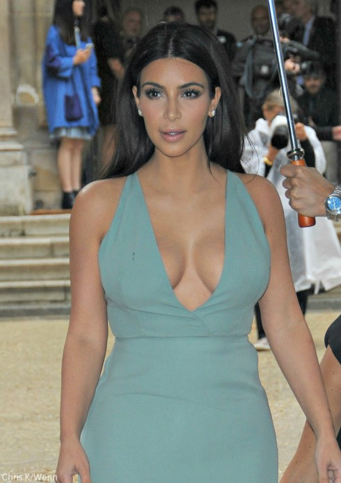 Kim Kardashian - Paris Fashion Week