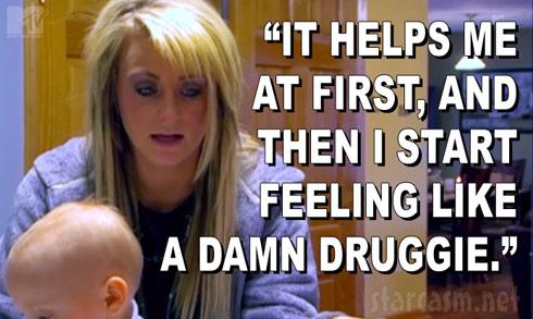 Leah Calvert talks about her prescription drug problem