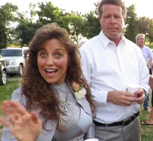 Michelle Duggar - Mother of the Bride Dress for Jill Dillard's Wedding