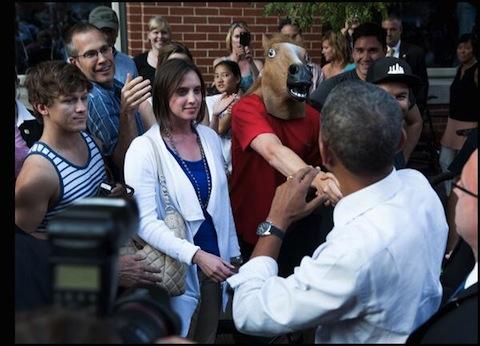 Obama Horsehead