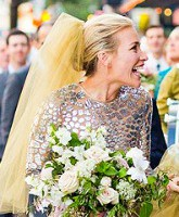 Piper perabo archives starcasm what do you think of piper perabos unconventional wedding dress junglespirit Choice Image