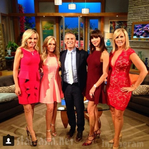 Real Housewives of Orange_County Season 9 Reunion Shannon Beador Tamra Judge Andy Cohen Heather Dubrow Vicki Gunvalson