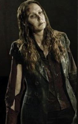 """Richardson portrayed a Walker on """"The Walking Dead."""""""