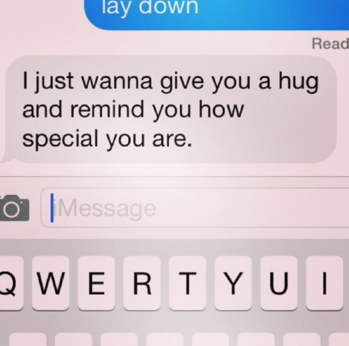 Selena Gomez Text Message Instagram