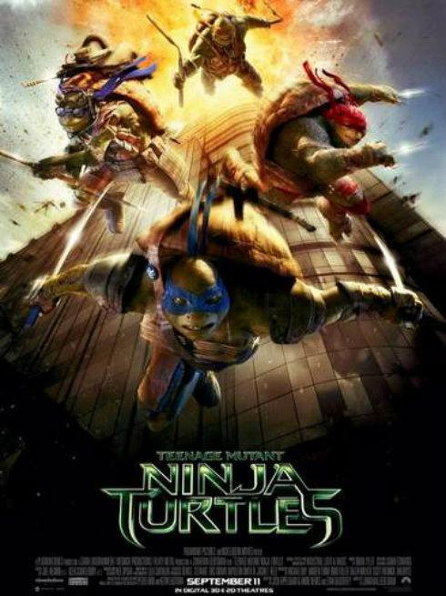 TMNT September 11th Poster