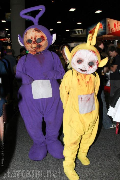 Teletubby Zombies 2014 San Diego Comic-Con costumes
