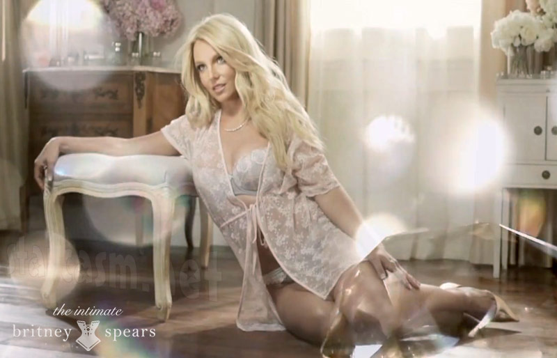 New Intimate Britney Spears lingerie line video and photos