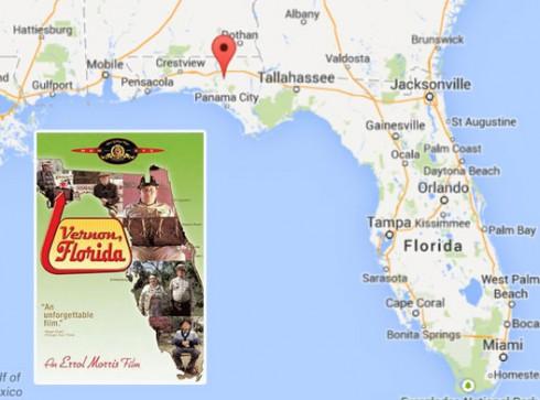 Vernon-Florida-Map