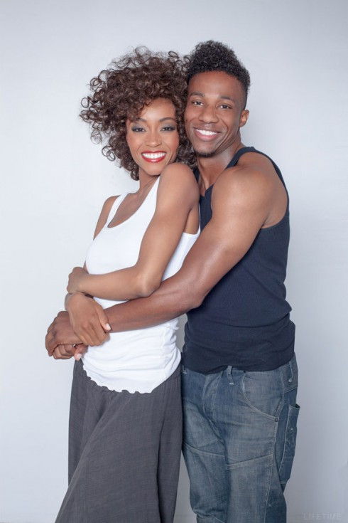 Lifetime movie Yaya DaCosta as Whitney Houston Arlen Escarpeta Bobby Brown