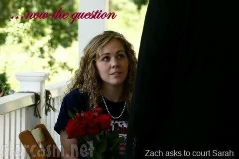 Zach Bates Asks Sarah Reith to Court
