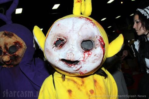 Zombie Teletubby costume 2014 San Diego Comic-Con costume