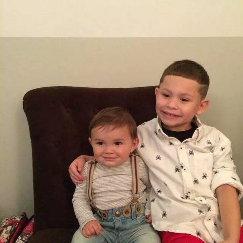 Kailyn Lowry's son Isaac and little brother Lincoln
