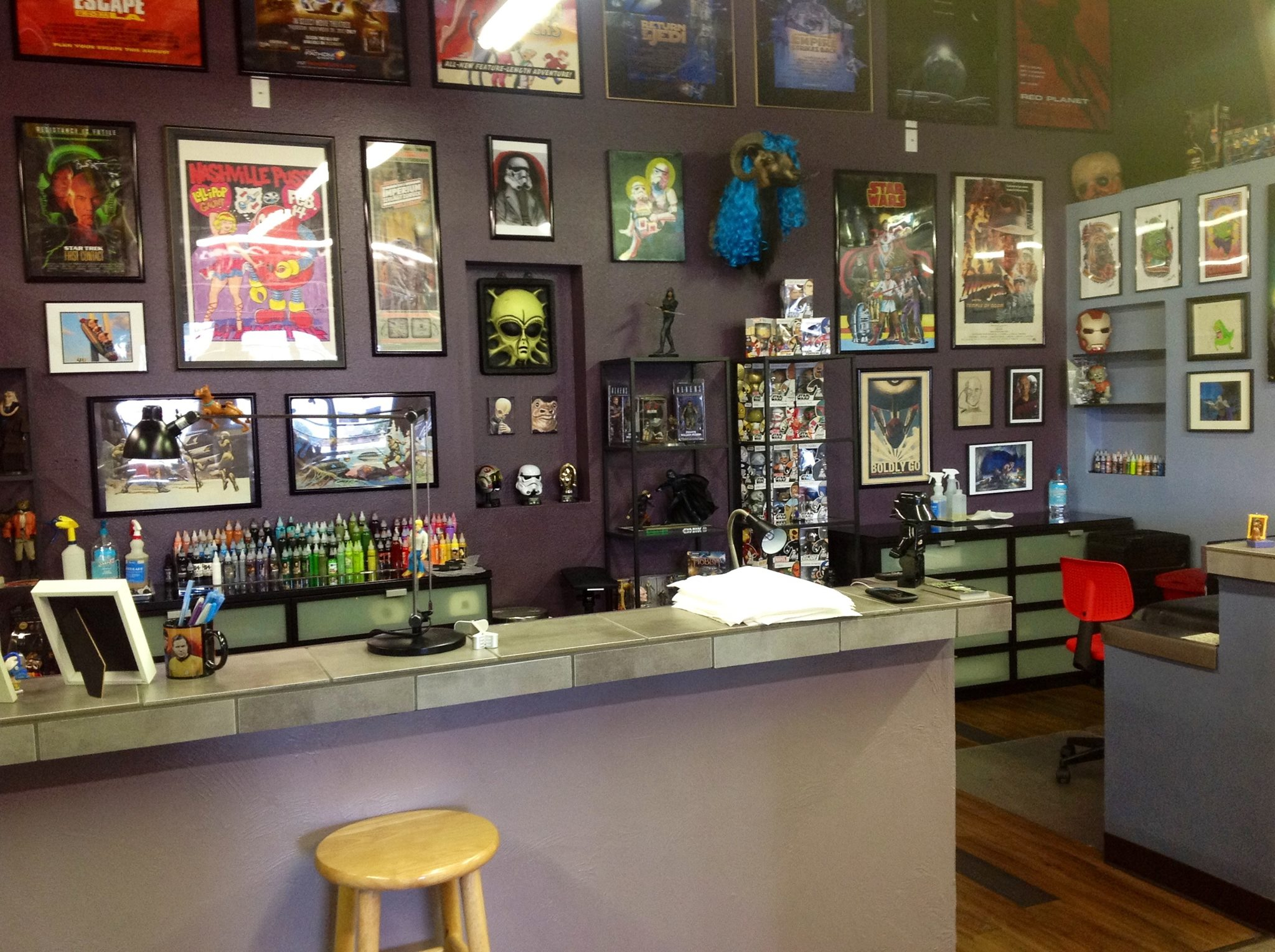 Tattoo Studio: Where Is The Area 51 Tattoo Studio From A&E's Epic Ink