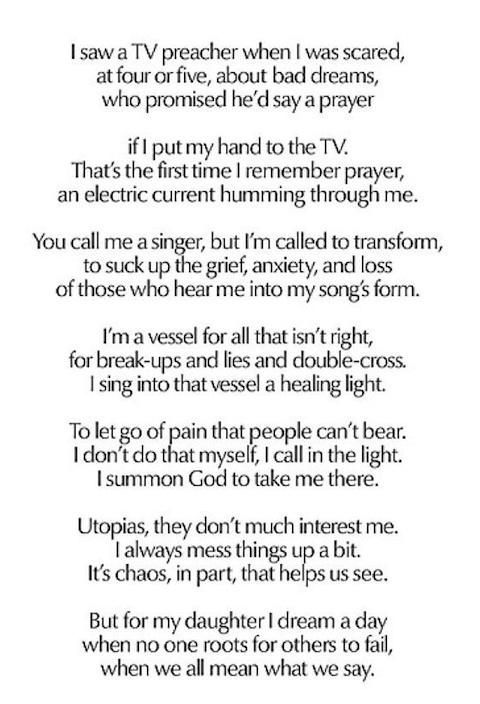 Beyonce poem 2