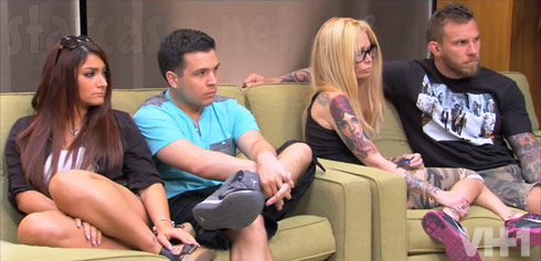 Couples Therapy Season 5 cast Deena Cortese and Jenna Jameson - click to enlarge