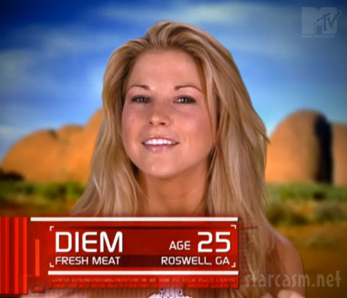 Diem Brown Real World/Road Rules Challenge Fresh Meat