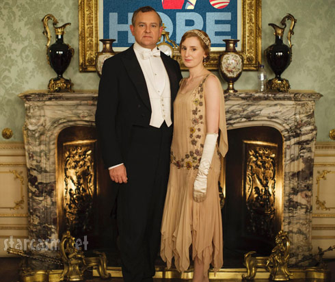 Downton Abbey Season 5 Obama Hope poster