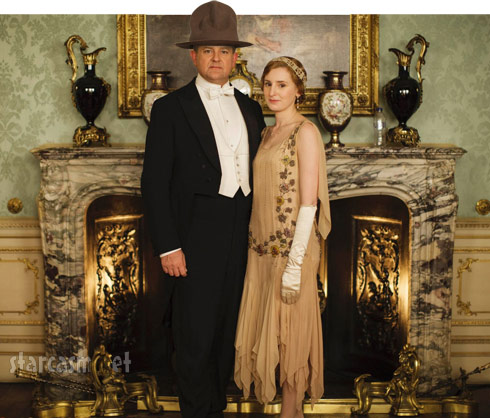 Downton Abbey Season 5 Earl of Grantham wearing Pharrell's hat