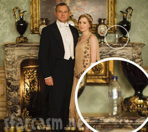 Downton Abbey plastic water bottle photo