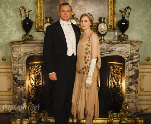 Downton Abbey Season 5 plastic bottle photo - click to enlarge