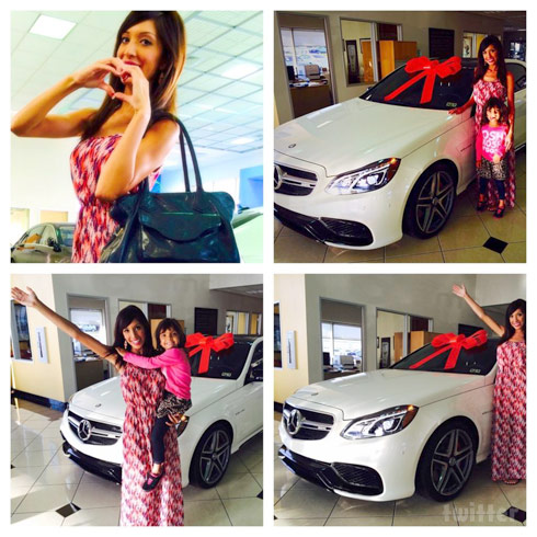 Farrah Abraham gets a new Mercedes Benz