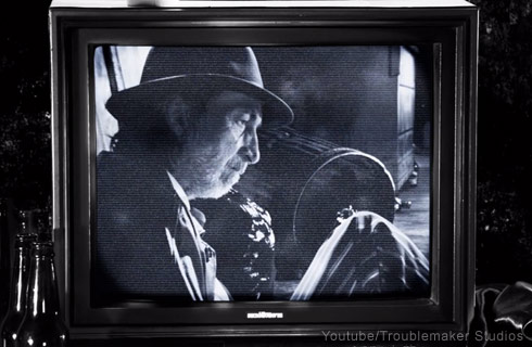 Frank Miller cameo movie scene in Sin City 2 A Dame To Kill For - click to enlarge
