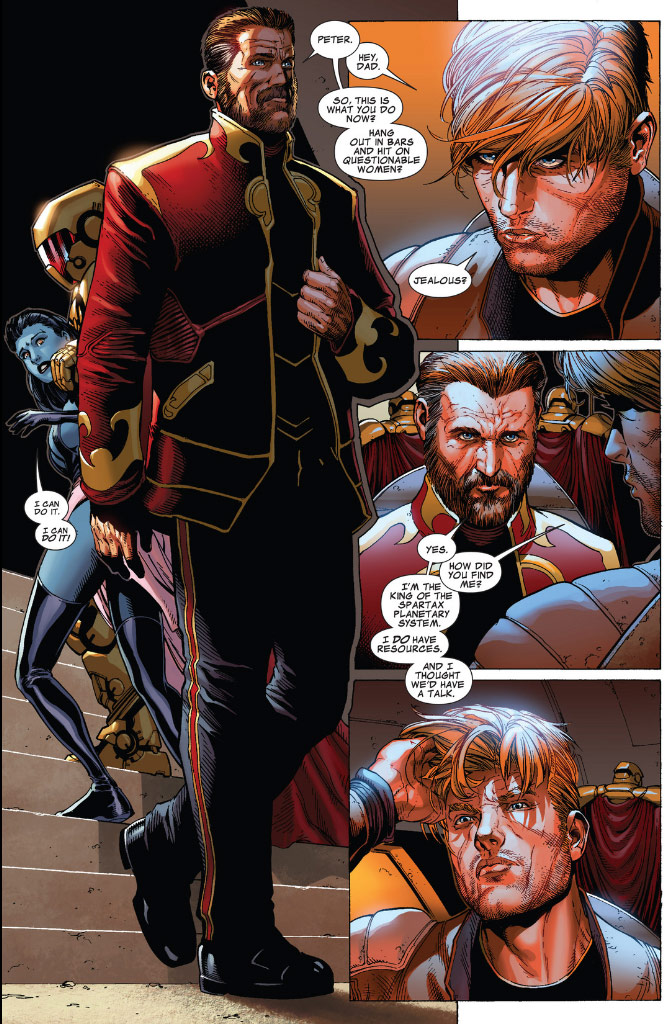 Who is Star-Lord Peter Quill's father, dad from the ...