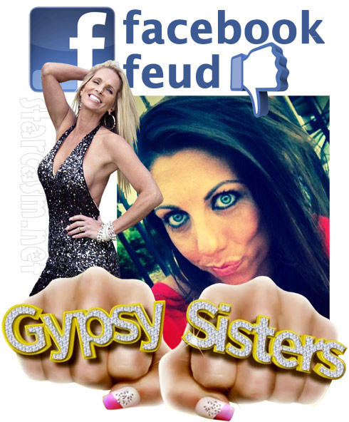 Gypsy Sisters Nettie Stanley and Sheena Small Wells Facebook feud