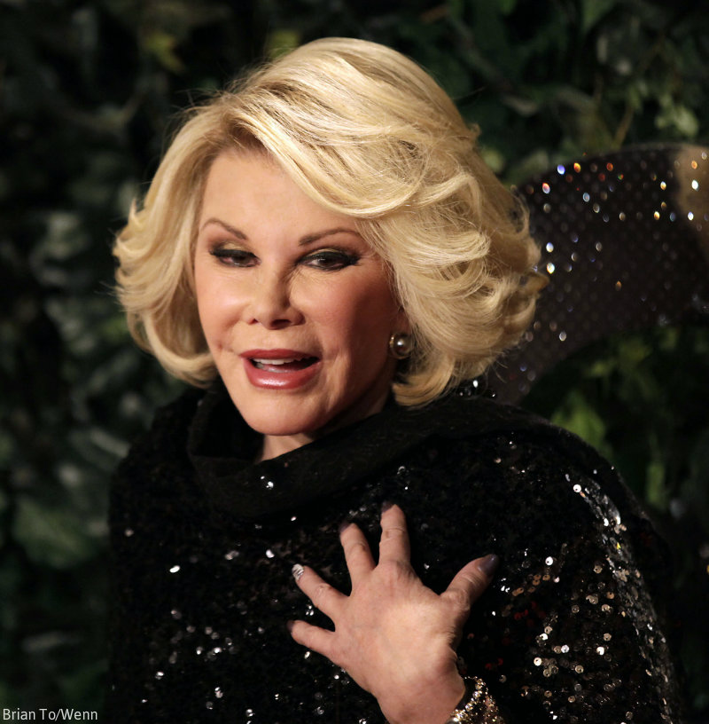 joan rivers hair style joan rivers stopped breathing rushed to the hospital is 1442