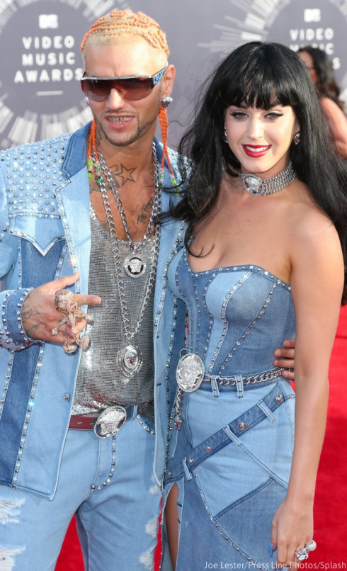 Katy Perry - Riff Raff Denim MTV VMAs 2014