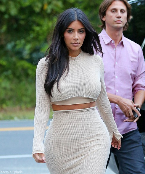 Kim Kardashian Waist Training