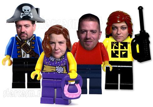 Arizona Lego thieves Troy Koehler, Melissa Dailey, Tarah Dailey and Garry Fairbee