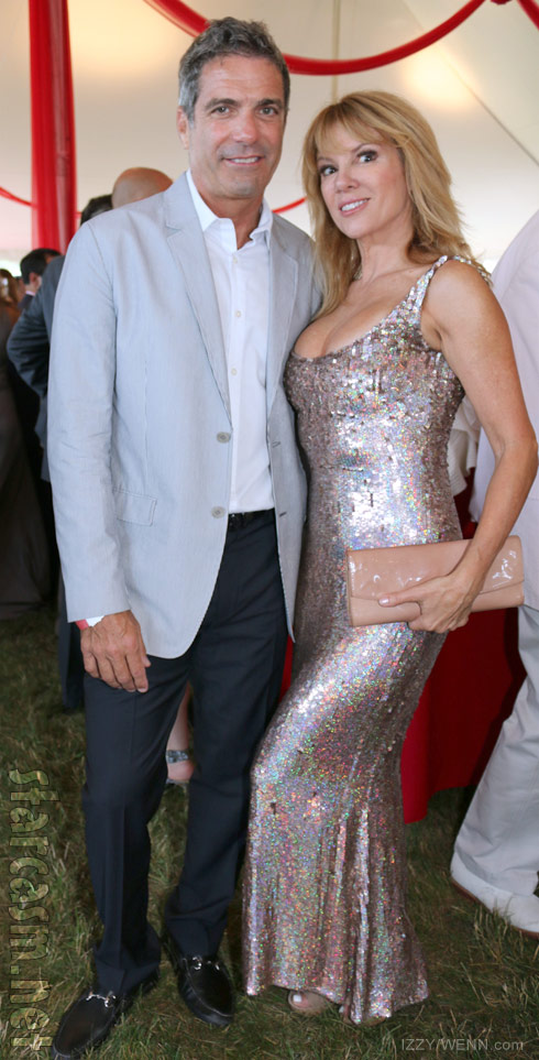 Mario Singer and Ramona Singer together June 2014 18th Annual Hamptons Ball