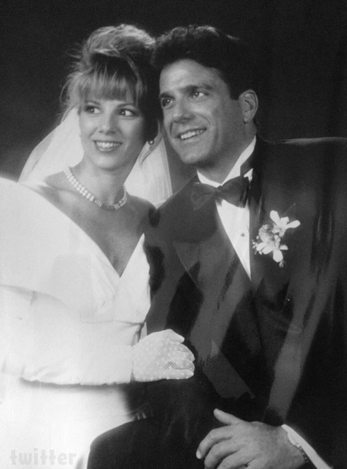 Mario Singer and Ramona Singer wedding photo