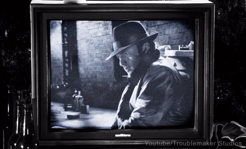 Robert Rodriguez movie scene cameo in Sin City 2 A Dame To Kill For - click to enlarge