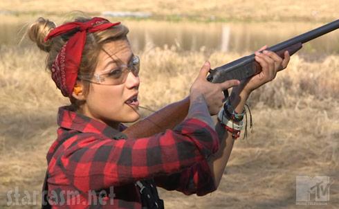 MTV Slednecks girl gun