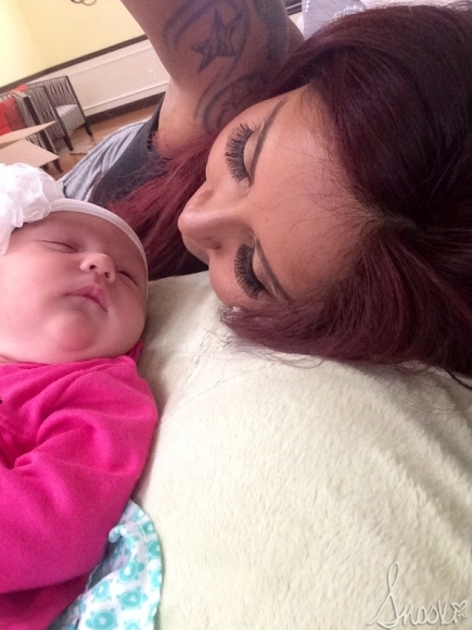 Snooki and Meilani 1