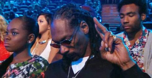 Snoop-Dogg-Michael-Brown-moment-of-silence