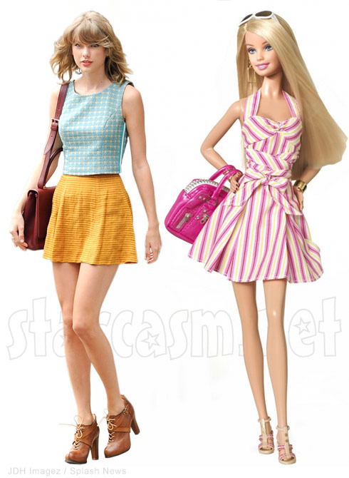 Taylor Swift Barbie Doll - click to enlarge