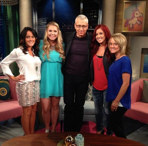 Teen Mom 2 Season 5 Reunion Dr Drew Jenelle Kailyn Chelsea Leah