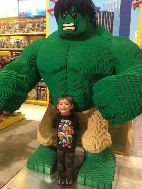 Jace Evans Lego Incredible Hulk