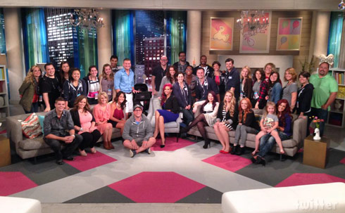 Teen Mom Teen Mom 2 Reunions 2014 - click to enlarge