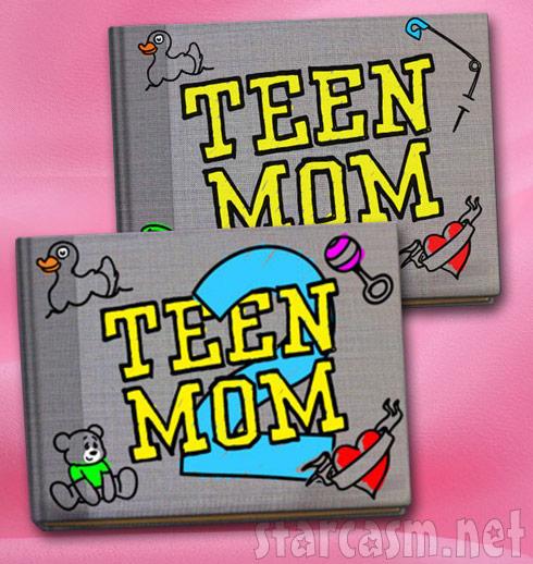 Teen Mom and Teen Mom 2 scrapbooks