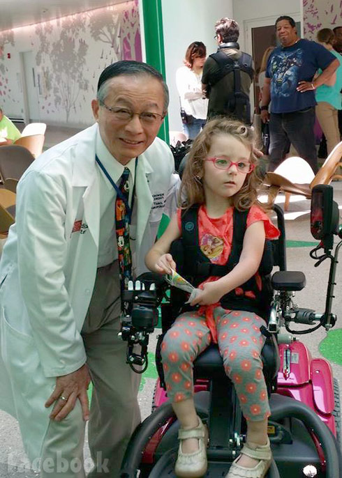 Teen Mom 2's Ali with her new wheelchair and her doctor Dr. Tsao