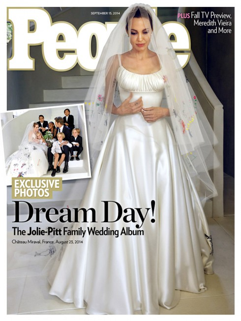 Angelina Jolie - Wedding Dress
