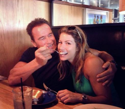 Arnold Schwarzenegger - Jennifer Widerstrom